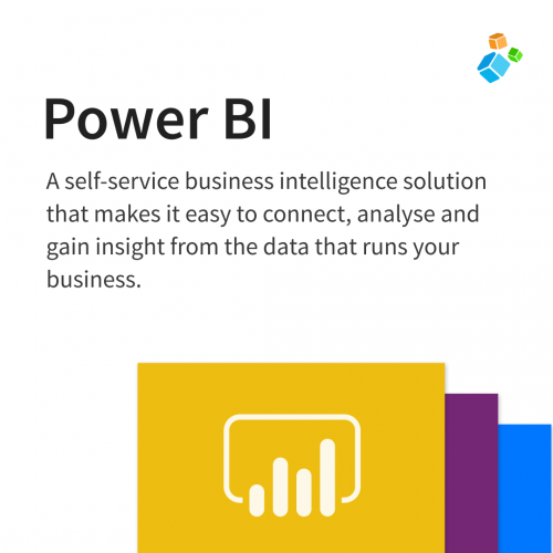 A self-service business intelligence solution that makes it easy to connect, analyse and gain insight from the data that runs your business.
