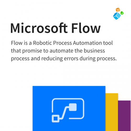Flow is a Robotic Process Automation tool that promise to automate the business process and reducing errors during process.